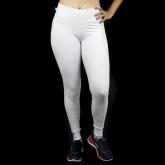 Calça Compressão Lisa Branca - Emana