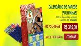 Calendário de Parede / Folhinhas - 500 unidades