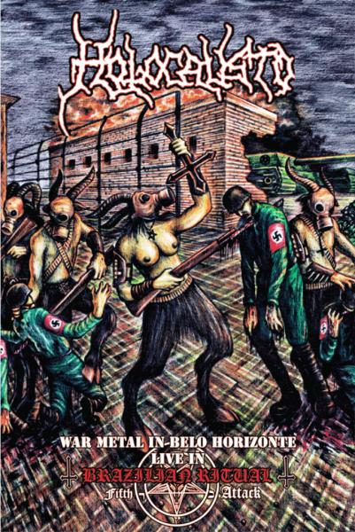 HOLOCAUSTO - War Metal in Belo Horizonte - Live in Brazilian Ritual Fifth Attack - LP+DVD (+Poster,