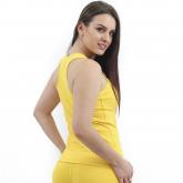 Regata Nadador Sprint Térmica Lisa Amarelo - Emana