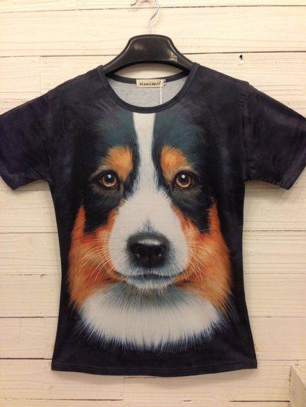 4b07d10e2c Camisetas 3D Estampa Animal - Cachorro - Virtual JMC