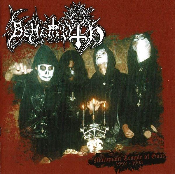 CD Behemoth - Malignant Temple of Goat (1992-1993)