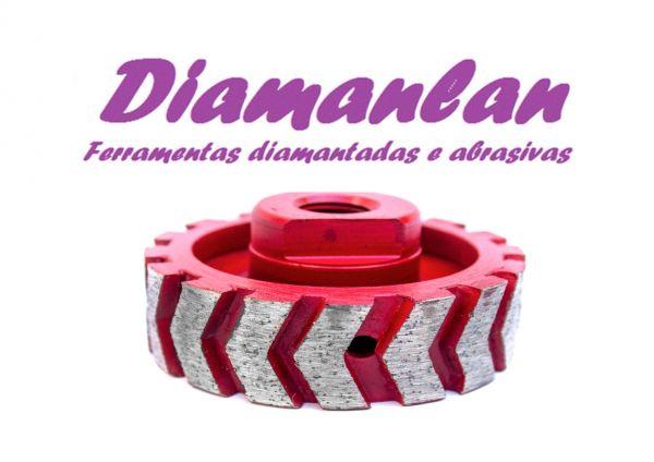Rebolo Chicote Diamantado Turbo Gr 36 M14
