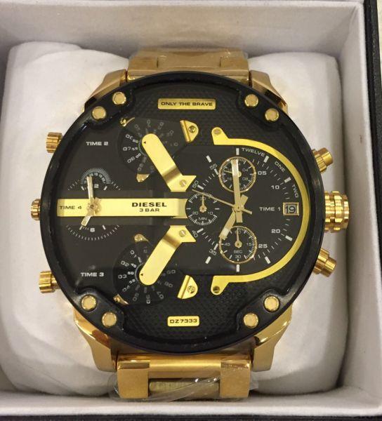 00372db0b3f DIESEL 4 MAQUINAS Dz7333 - A.S. Relógios de Luxo
