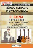 Z-34) P. BONA - MÉTODO COMPLETO PARA DIVISÃO MUSICAL