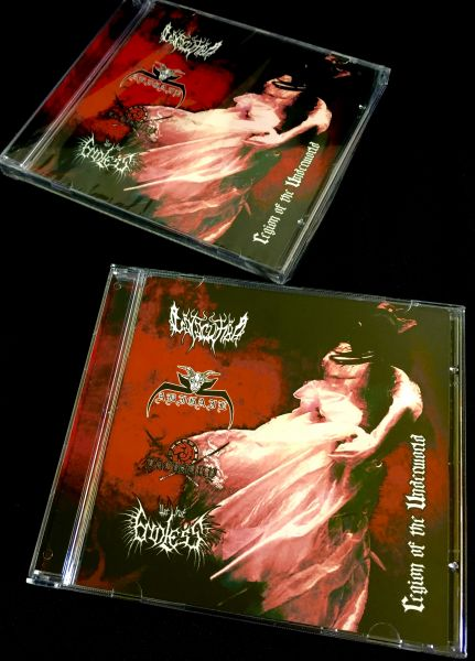 Catacumba / Abigail / Taekaury / The True Endless ‎– Region Of The Underworld - CD