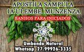SAMPULA IA'ULEMBE MUNZENZA - Banhos para iniciados