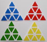 Pyramix 3 camadas - Cores Dayan