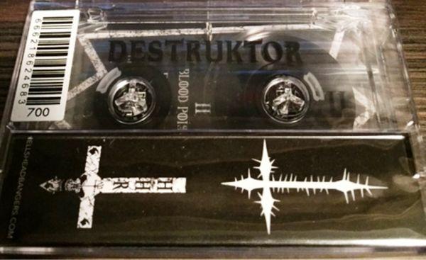DESTRUKTOR - Opprobrium - CASSETE