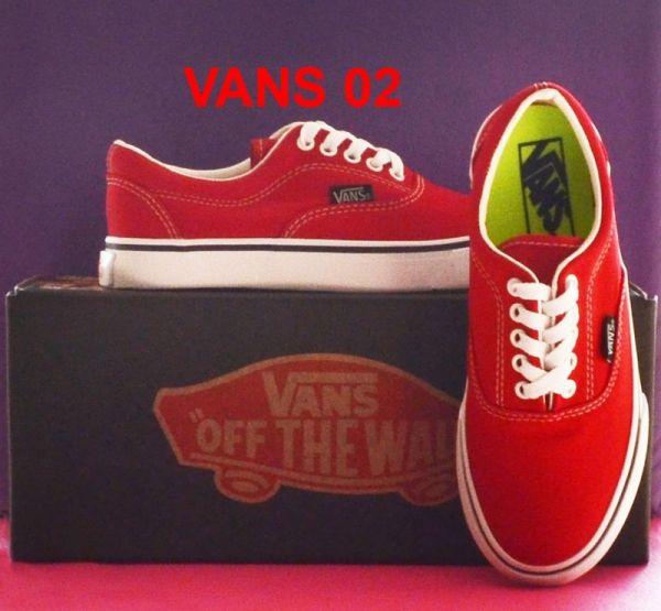eb54e44e37f46 Tênis Vans Vermelho - Outlet Ser Chic