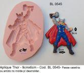Super Herói Thor Avengers Vingadores com 9x6cm