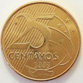 25 Centavos 2005 FC