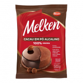 Chocolate em Pó 100% Cacau Harald Melken 500g 1un