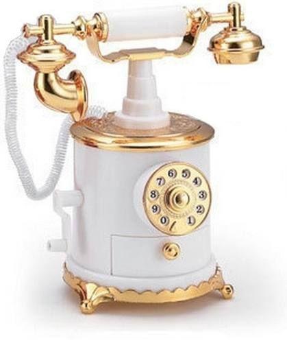 Telefone Retrô  (caixa de musica)