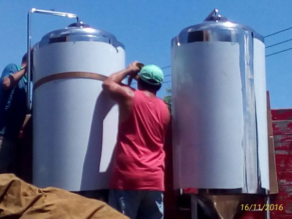 fermentadores em aço inox a partir 10 lts fabricação sob pedido