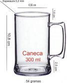CANECAS PARA  CHOPP  300  ML