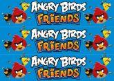 Papel Arroz Angry Birds Faixa Lateral A4 006 1un
