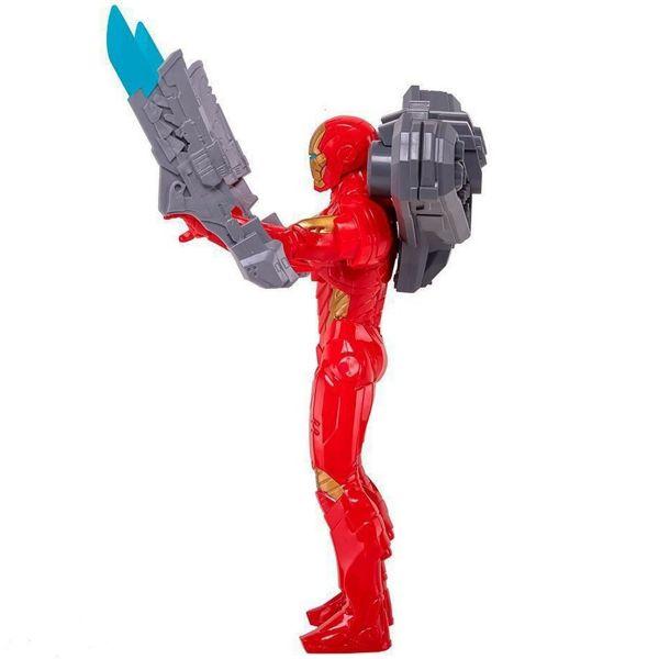Boneco Homem de Ferro com Acessórios