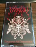 IMPIETY - Vengeance Hell Immemorial - CASSETE compilation (RED)