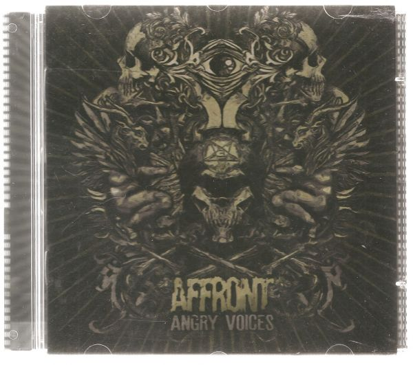 CD - Affront - Angry Voices