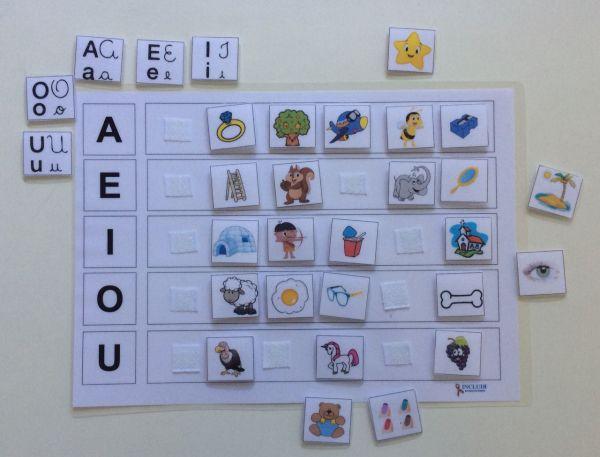 Alfabetização Vogais e Figuras