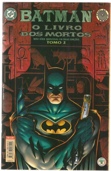 HQ - Batman - O Livro dos Mortos - Nº02