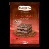 Chocolate em Pó 50% Cacau Gourmet Mavalério 1kg 1un