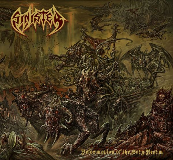 CD Sinister – Deformation of the Holy Realm (Slipcase+pôster))