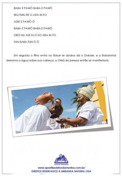 APOSTILA ÁGUAS DE OXALÁ – RITUAL COMPLETO