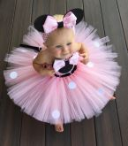 Vestido Fantasia Minnie Cód 62