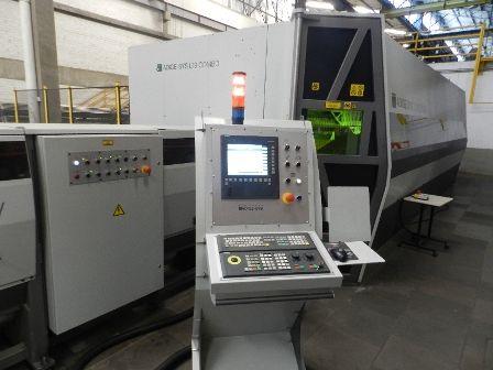 Maquina De Corte A Laser Fibra Optica BLM 3000 Wtts