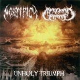 MORTIFICY / MESSEMON ECROF -  Unholy Triumph - Split