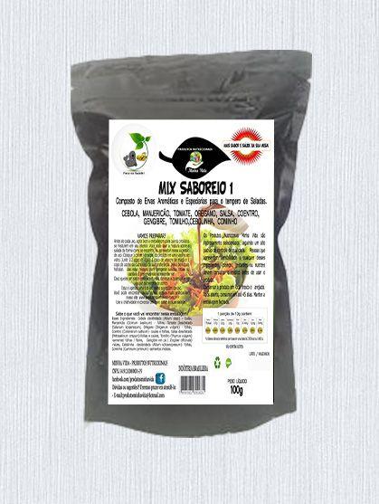 Mix Saboreio 1 - Condimentos para o tempero de Saladas - 100 g