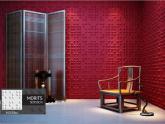 Revestimento Placas Decorativas 3D Board - Fibra de Bambu Original - Morits