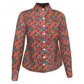 Camisa Manga Longa Círculos Color