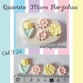 Quarteto Micro Florzinhas