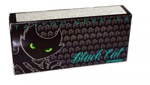 Agulha Black Cat 8 RL - 50 unid