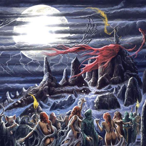 Varathron – Glorification Under The Latin Moon - CD
