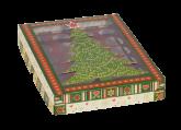 Caixa Brigadeiro de Natal 24 Cavidades 3un