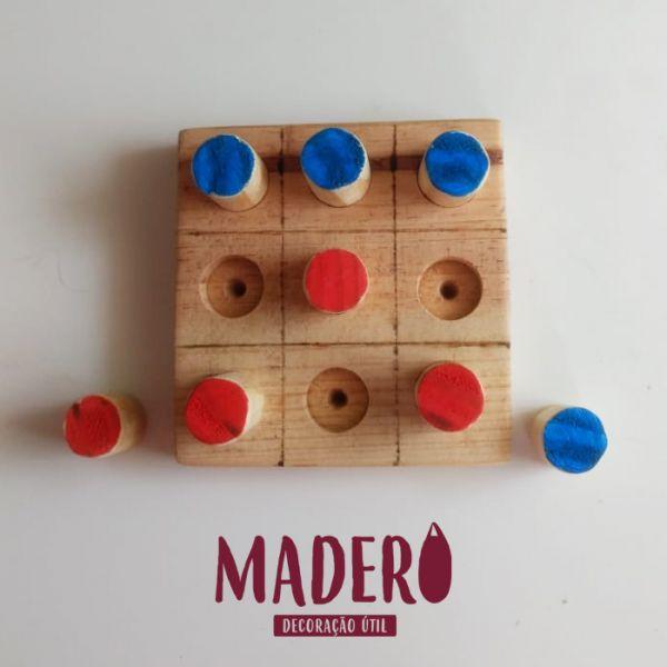 jogo da velha de encaixe