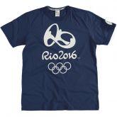 Camiseta Malwee Olimpíadas Estampada Rio 2016 Azul - Masculina