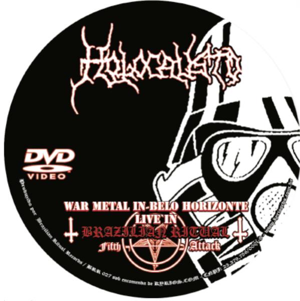 HOLOCAUSTO - War Metal in Belo Horizonte - Live in Brazilian Ritual Fifth Attack - CD+DVD