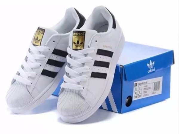 c4ab9da86b1 Tênis Adidas Superstar Unissex Confortável Tradicional ! - Import ...