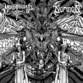 """MORBOSIDAD / NOMINON  - Maldiciones Impuras - 7"""" (Split)"""