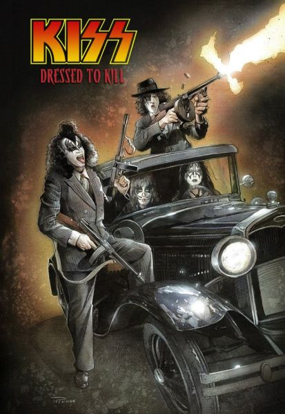 Poster - KISS - Dressed To Kill