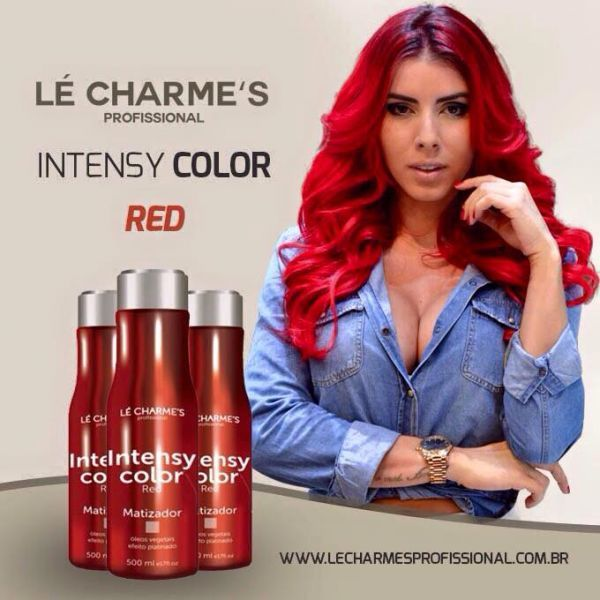 Intensy Color Red 500ml - Cabelos Colori