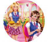 Papel Arroz Barbie Redondo 006 1un