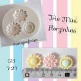 Trio Mini Florzinhas