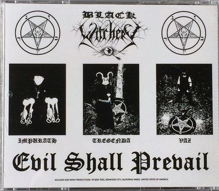 BLACK WITCHERY - Evil Shall Prevail - CD (Compilation)
