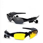 Óculos de sol Bluetooth v4.0 fone (enviar lente de visão noturna) 98eb1e2168